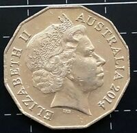2014 AUSTRALIAN 50 CENT COIN