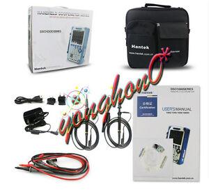 NEW Handheld Isolated Oscilloscope 120Mhz Dso1122s 1Gs/S Hantek