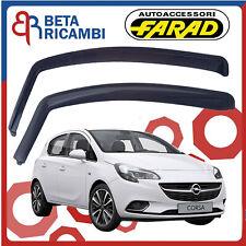 Deflettori Aria Per Opel Corsa D E 5 Porte Antipioggia Antivento Fumè 12513