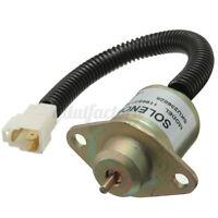 Fuel Shutdown Diesel Shut Off Stop Solenoid 119653-77950 For Yanmar John  !