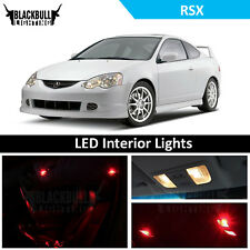 Red LED Interior Lights Package Replacement Kit for 2002-2006 Acura RSX 6 bulbs