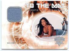 2004 FLEER WWE WRESTLEMANIA XX TO THE MAT GAIL KIM EVENT USED RING MAT