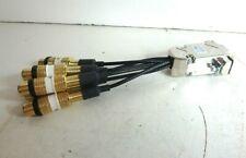 9 Pin VGA to 6 way Video RCA Gold Female Splitter