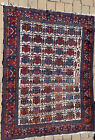 "6'8"" x 4' Antique Shirvan Style Carpet Caucasian Rug Kazak Handmade Oriental Rug"