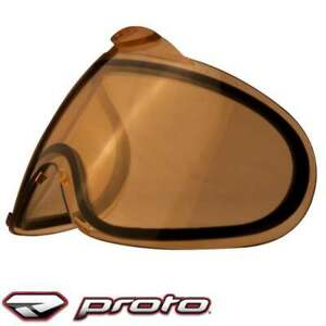 Paintball Maskenglas Proto Switch//Axis Lens Thermal; Chrome Mirror