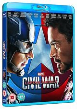 Captain America: Civil War  [Blu-ray] [2016] New & Sealed
