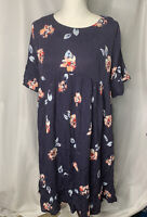 Isabel Maternity Dress Womens Size Small S Flowers Summer Ingrid