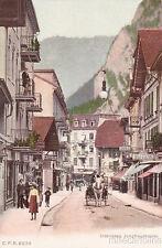 * SWITZERLAND - Interlaken - Jungfraustrasse
