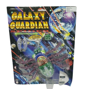 VINTAGE GALAXY GUARDIAN SPIDER TRANSFORMABLE ROBOT OR INSECT TOY NOS MOC NEW