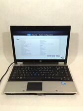 "HP EliteBook 8440p 14"" Laptop/Intel Core i5/320GB HDD/4GB RAM/Win10 - RV"