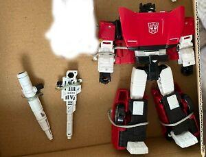 Transformers Kingdom Battle Across Time WFC-K42 Autobot Sideswipe SHIPS LOOSE