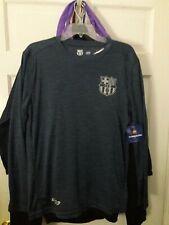 FC Barcelona soccer  jersey Long sleeve T-shirt Barça fútbol camiseta camisa L