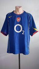 Football shirt soccer FC Arsenal Gunners Away 2004/2005 Nike jersey Vintage XL