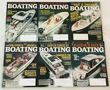 Boating Magazine Lot of 6 Issues Nov/Dec 2016, Mar 2017 & May 2017-Sept 2017 New