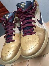 Nike Zoom KOBE IV 4 OLYMPIC GOLD MEDAL grinch undefeated USA FTB 2009 Size 10