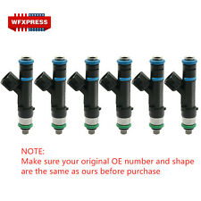 6x Fuel Injectors For Bosch 2004-2010 Jeep Dodge Mitsubishi 3.7L 0280158020