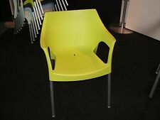 Restaurant Resol Lime Green Pole Chair made in Europe