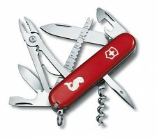 🌟🌟🌟 1.3653.72 VICTORINOX SWISS ARMY POCKET KNIFE ANGLER RED 18 TOOLS 53671