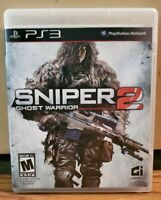 Sniper: Ghost Warrior 2 (Sony PlayStation 3, 2013) *TESTED* Complete