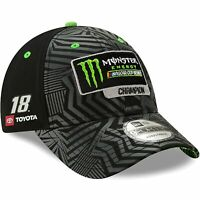 Kyle Busch New Era 2019 Monster Energy NASCAR Cup Series Champion Victory Lane