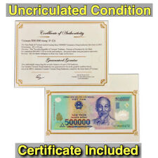 BUY 1 MILLION VIETNAM DONG = 2 x 500 000 Vietnamese Dong Currency - VND Banknote
