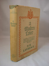 A Modern Lover by DH LAWRENCE - 1st Edition, 1934. Hardcover.