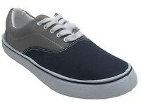 Mens Canvas Trainers Plimsoles Plimsolls Casual Shoes Pumps UK 7 8 9 10 11 12