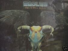 THE EAGLES ONE THESE NIGHT RARE OUT OF PRINT LIMITED EDITION TEXTURED JACKET LP