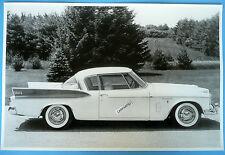 "1957 Studebaker Golden Hawk 12 X 18"" Black & White Picture"