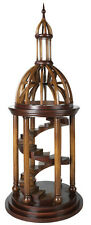 "Bell Tower Antica Architectural 3D Wooden Model 35"" Dome Home Decor New"