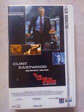 "Videokassette ""In the Line of Fire"" Thriller mit Clint Eastwood ab 16 Jahren"
