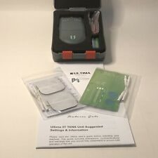 TENS Machine Hospital-Type Pain Relief Unit 4 pads, 2 channels, new, easy to use