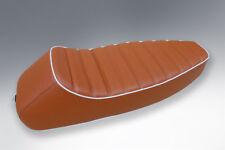 VESPA SEAT SPORTS SEAT  STYLE - PE PX LML 2 STROKE TAN WITH WHITE