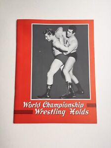 Mario Milano WCW Wrestling Holds Booklet Australia Red Bastien VTG