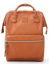 Kah&Kee Leather Backpack Diaper Bag with Laptop Compartment Travel School Women