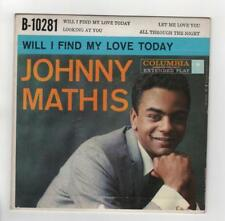 """Johnny Mathis 45EP""""Wonderful,Wonderful Vol 1"""" """"Will I Find My Love Today"""" B10281"""