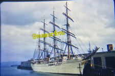 Sears Slide Photo Sailing / Training Ship Vessel Nippon Maru Japan Yokohama