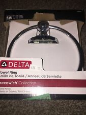 Delta Greenwich Towel Ring in Chrome 138272 Missing Hardware