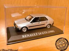 RENAULT 14 GTS GT-S METALLIC SILVER 1980 1:43 MINT!!!