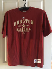 Majestic Authentic MLB Houston Baseball Black T-Shirt XL