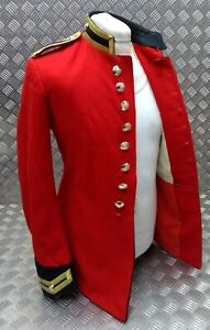 Genuine British Army Issue Life Guards Trooper Red H Cav Tunic Buttoned EBYT409