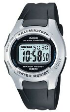 Casio W-42H-1AVES Illuminator Quartz Digital Sport Stopwatch 50m Water Resistant