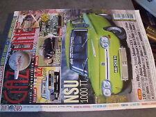 $$l Revue Gazoline N°109 NSU 1000 TT  R12 Gordini  Velorex  4 CV  Jeep Willys
