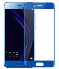 Huawei Honor 9 - Film en verre trempé résistant couvre tout l'écran (Bleu)