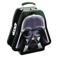 Darth Vader Star Wars Lunch Box Dark Side Embossed Tin Tote Lunchbox