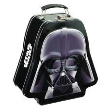 Darth Vader Star Wars Lunch Box Dark Side Embossed Tin Tote Lunchbox