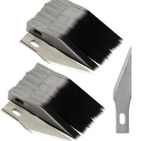 100PCS #11 Blades for x-acto Knife Replacement Light Duty Hobby Arts&Craft xacto