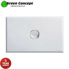 NEW Standard Single One 1 Gang Light Switch White