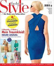 fashion Style -  Mode zum Selbernähen 08/2015 -JACKEN HOSEN TOPS RÖCKE KLEIDER