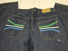 Mens ROCA WEAR Jeans SIZE 38 x 34 DESIGN STYLE rn 106830